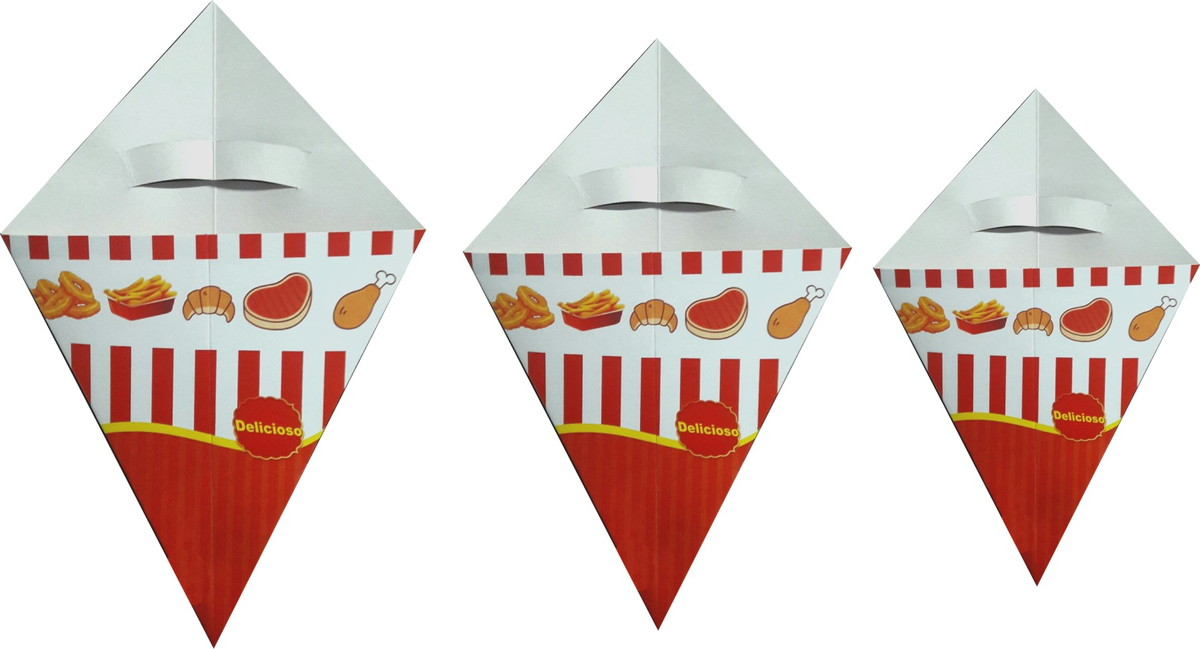 Cone para Batata Frita